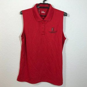 Under Armour Golf Red Zinger 4 Seasons Resort Polo